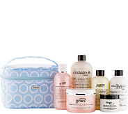 philosophy 6pc favorites collection w/ travel bag - A252331