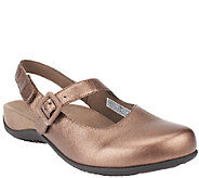 Vionic w/ Orthaheel Leather Mary Janes - Abigail - A257431