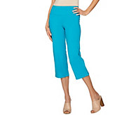 Women with Control Regular Tummy Control Crop Pants - A264331