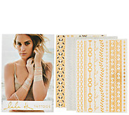 Lulu DK Set of 3 Temporary Tattoos - A266531