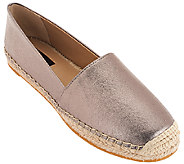 G.I.L.I Leather Espadrilles - Sandie - A268131