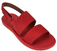 As Is Clarks Lightweight Double Band Sandals - Paylor Pace - A285531