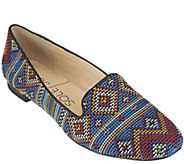 As Is Sole Society Printed Slip-on Loafers -Miia - A285931