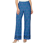 C. Wonder Petite Engineered Floral Tile Print Pants - A288831