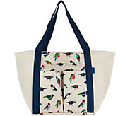 Vera Bradley Canvas Beach Shopper - A292931