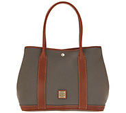 Dooney & Bourke Pebble Leather Layla Tote Handbag - A308731