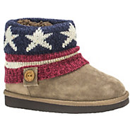 MUK LUKS Girls Patti Boots - A337431