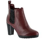 Bella Vita Leather Ankle Boots - Zana - A337631