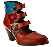 Spring Step LArtiste Vintage Leather Ankle Boots - Autumn - A337831