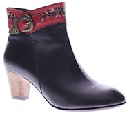 Spring Step LArtiste Leather Ankle Boots - Veronika - A337931