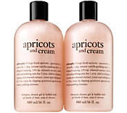 philosophy apricots and cream set of two - A340931