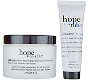 philosophy mega size hope in a jar moisturizer & eye duo AD - A344731