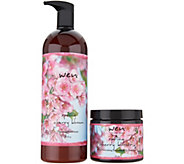 Ships 6/27 WEN By Chaz Dean 32-oz Seasonal Cleansing Cond with Body Cream - A346531