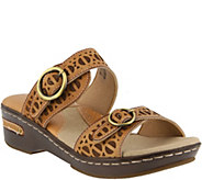 LArtiste by Spring Step Leather Slide Sandals- Duobank - A363631