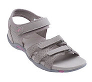 Ryka Perforated Quarter Strap Adjustable Sandals - A213032