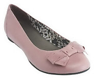 As IsClarks Bendables Poem Court Leather Flats - A227232