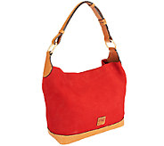 Dooney & Bourke Nubuck  Leather O-Ring Sac - A239432