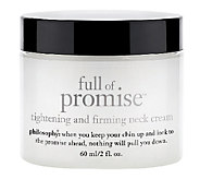 philosophy super-size full of promise 4 oz. neck moisturizer - A257732