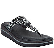 Skechers Studded Thong Sandals with Memory Foam - Studly - A265332