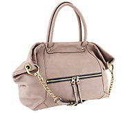 As Is orYANY Jocelyn Italian Grain Leather Satchel - A267632