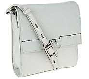 H by Halston Pebble & Saffiano Leather Crossbody bag - A269732