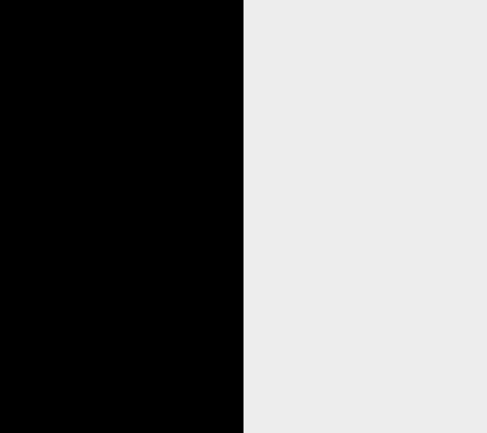 Image result for half black half white