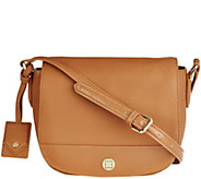 As Is Liz Claiborne New York Heritage Collection Leather Handbag - A284632