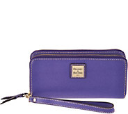 Dooney & Bourke Saffiano Leather Double Zip Wallet - A286232