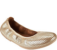 Clarks Unstructured Nubuck Leather Flats - Un.tract - A287332
