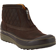 As Is Clarks Outdoor Waterproof Leather Slip-on Boots - A293232