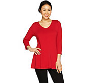Susan Graver Modern Essentials Cotton Modal Tunic - A297132