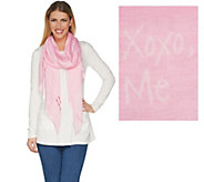 Peace Love World Love Letter Scarf - A299332
