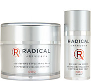 Radical Skincare Eye Cream and Exfoliating Pads - A309132