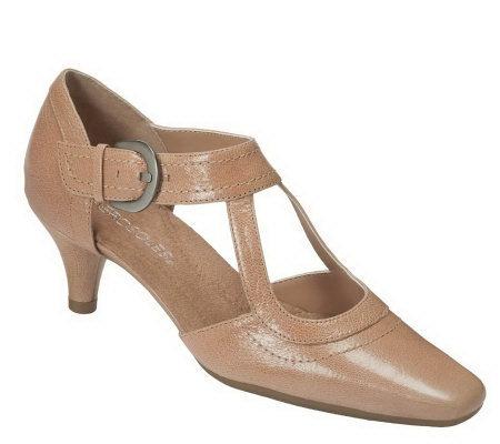 aerosoles cheery tomato dress shoes qvc
