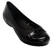 Crocs Cap Toe Croslite Flats - A331932