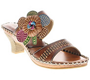 Spring Step LArtiste Collection Oceanside Leather Sandals - A332132