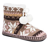 MUK LUKS Womens Bootie Slippers - A362232