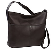 Le Donne Leather Two Slip Pocket Hobo - A363032