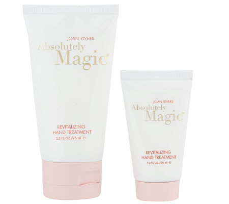 Joan Rivers Absolutely Magic Revitalizing Hand Cream Duo