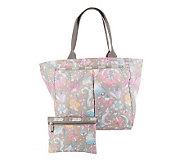 LeSportsac Printed Nylon EveryGirl Tote with Pouch - A233233