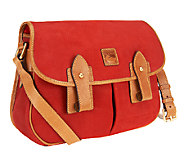 Dooney & Bourke Nubuck Leather Saddle Bag - A239433