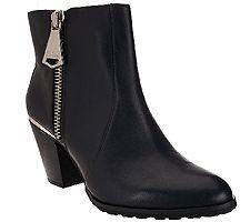 Aimee Kestenberg Leather Ankle Booties - Dana