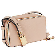 As Is G.I.L.I Pebbled Leather Convertible Micro Bag - A266933