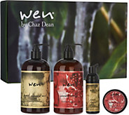 WEN by Chaz Dean Universal Cleanse & Treat 4Piece Gift Set - A271733