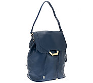 As Is Dolce Vita Lucy Nappa Leather Backpack - A274333