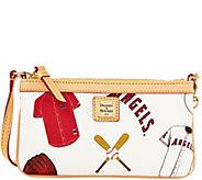 Dooney & Bourke MLB Angels Large Slim Wristlet - A280133