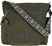 Kipling Nylon Hobo Handbag with Novelty Strap - Nyrie - A296733