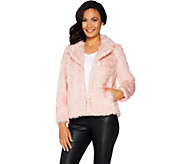 Isaac Mizrahi Live! Special Edition Faux Fur Jacket - A297833
