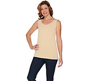 As Is Joan Rivers Wardrobe Builders (R) Jersey Knit Long Tank - A298233