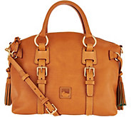 As Is Dooney & Bourke Florentine Leather Bristol Satchel - A300333